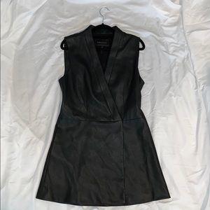 BCBG MAXAZRIA Caryn Wrap Vest Dress